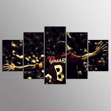 Livingroom Liverpool by Sale 5 Panel Hd Liverpool Fc Print Canvas Art Unframed Wall