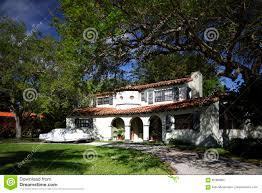 La Maison Du Sud Maison 1950 Du Sud Du S La Floride Photo Stock Image 85306804