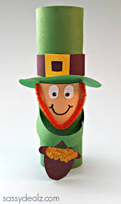 Toilet Paper Roll Crafts For Halloween by Leprechaun Toilet Paper Roll Craft For St Patrick U0027s Day Toilet