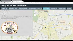 Chicago O Hare Parking Map by Parking Map For City Of Newark Events Youtube