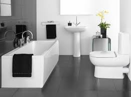 Small Black And White Tile Bathroom Small Bathroom Black And White Tiles