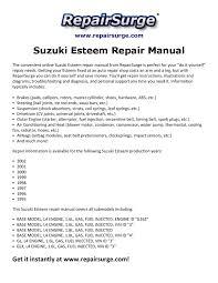 suzuki esteem repair manual 1995 2002 by edward512 issuu