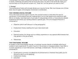 Types Of Resume Splendid Design How To Build A Great Resume 9 Resume Template How