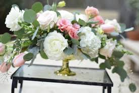 wedding flowers houston blush and white wedding flowers compote garden style arrangement