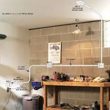 how to wire a finished garage finished garage pvc conduit and