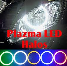 yamaha r6 halo lights sportbike lites red blue green amber whiteplazma led headlight