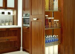 slim kitchen pantry cabinet slide out pantry cabinet narrow slide out pantry fridge gap slide