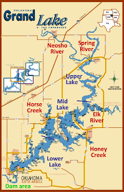 Map Oklahoma Grand Lake Grove Ok Map Best Lake 2017