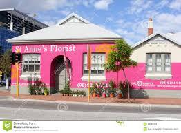 flowers garden city pink flower shop perth australia editorial stock image image
