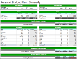 resume templates google sheets budget bi weekly budget template an easy way to plan a budget