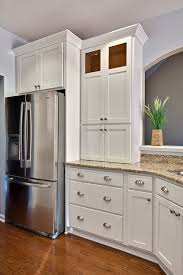 Cabinet Crown Molding Ideas Kitchen Cabinet Crown Molding Ideas Bedroom Traditional With Wood