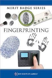 fingerprinting merit badge