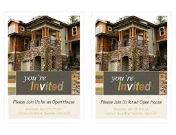 open house invitation real estate open house invitation 2 per page office templates