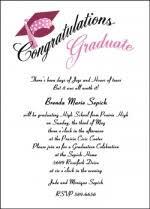 find high school graduation announcement invitation wordings