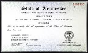 how to become a licensed home inspector in tennessee internachi
