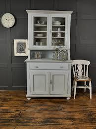 shabby chic pastel blue u0026 grey antique pine kitchen dresser by the