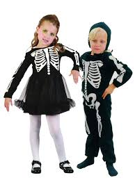 Skeleton Costume For Halloween Age 2 3 Childrens Skeleton Costume Boys Girls Toddler Kids