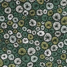 green fabric scandinavian fabric green home decor fabric by