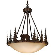 Big Iron Chandelier