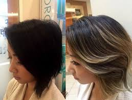 partial hi light dark short hair 40 on trend balayage short hair looks