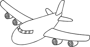 paper airplane coloring page coloring page airplane plane for kids best of front arilitv com