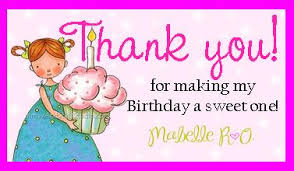 thank you message for birthday wishes on with pictures