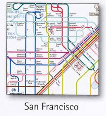 cable car san francisco map san francisco transport map usa trolley cable car tram bart