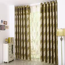 World Curtains Modern Leaf Patterns World Market Curtains