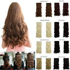 hair clip extensions new 27 curly synthetic hair clip in half hair extension