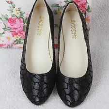 Comfort Flat Shoes Women U0027s Shoes Pu Spring Fall Comfort Flats Flat Heel Round Toe For