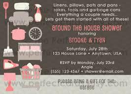 etsy wedding shower invitations around the house wedding bridal shower invitation