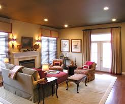 Home Interior Color Ideas by Rooms With Colored Ceilings Designing From The Top Down