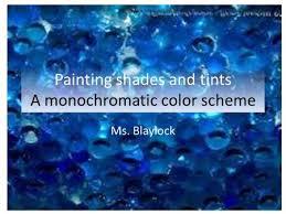 monochromatic color scheme ppt video online download