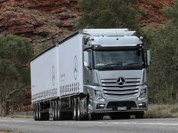 mercedes prime mover mercedes actros launched in australia logistics