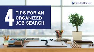 Interior Design Job Search by 4 Tips For Staying Organized In Your Job Search Vanderhouwen