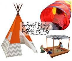 25 backyard boredom busters for kids crystalandcomp com