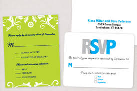 Sample Rsvp Cards How To Address Rsvp Cards U2013 Wedding Invitation Ideas