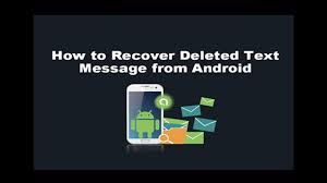 recover deleted photos android without root recover deleted sms text messages from android without root