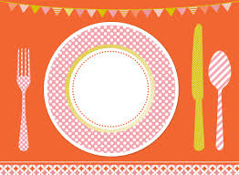 kids placemats sweet soiree placemats clipart cuina food clipart