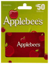 applebee gift card 39 for a 50 applebees gift card deal today only on free ship