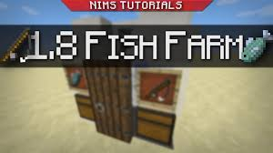 minecraft tutorial afk fish farm broke 1 11 in desc youtube