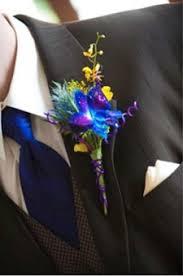 blue boutonniere boutonnieres me floral