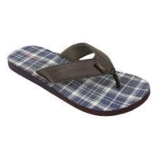 amazon com dockers men u0027s eric plaid print casual flip flop