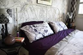 woman in real life the art of the everyday master bedroom mini i found what i wanted in qe home s carlingdale laurel collection with their duvet cover and pillow shams laurel features smoky grey watercolour leaves