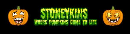 spirit halloween logo stoneykins pumpkin carving patterns and stencils