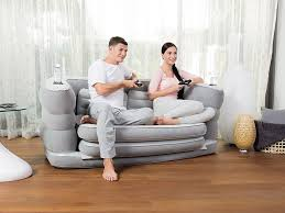 Inflatable Sofa Bed Mattress by Bestway Multi Max Ii Inflatable Sofa Couch Double Air Bed Mattress