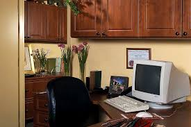 Custom Home Office Storage  Cabinets Tailored Living - Custom home office designs
