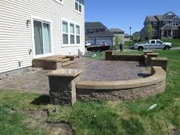 Large Pavers For Patio by Landscape Contractor Burnsville Mn Devine Design Hardscapes