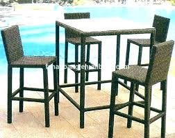 bar top table and chairs patio table high top nhmrc2017 com