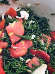 cuisiner la salicorne 63 la salade saline eléo fourneau